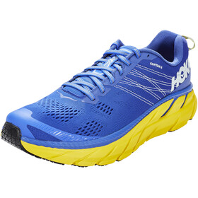 Hoka One One Clifton 6 Running Shoes Men nebulas blue/lemon